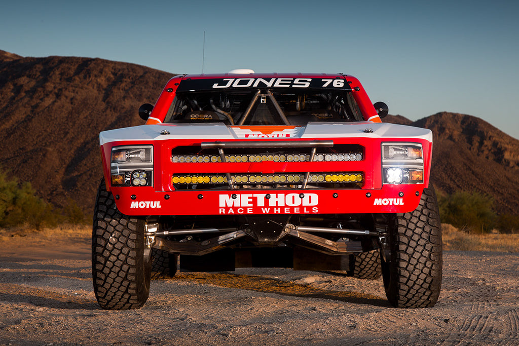 Jesse Jones Mason Trophy Truck with Method Race wheels