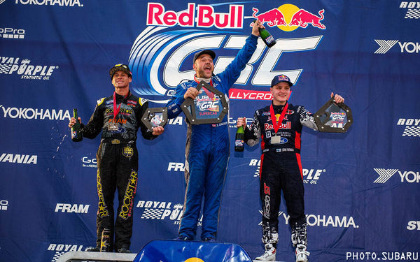 Sverre Isachsen | Subaru | First Place | Red Bull GRC