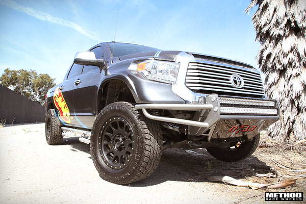2014 Toyota Tundra Black Method Wheels