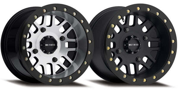 Method MR406 UTV Beadlock | Matte Black Machined | Matte Black