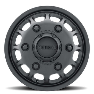 901 |  Sprinter Dually Wheel | Matte Black | FRONT