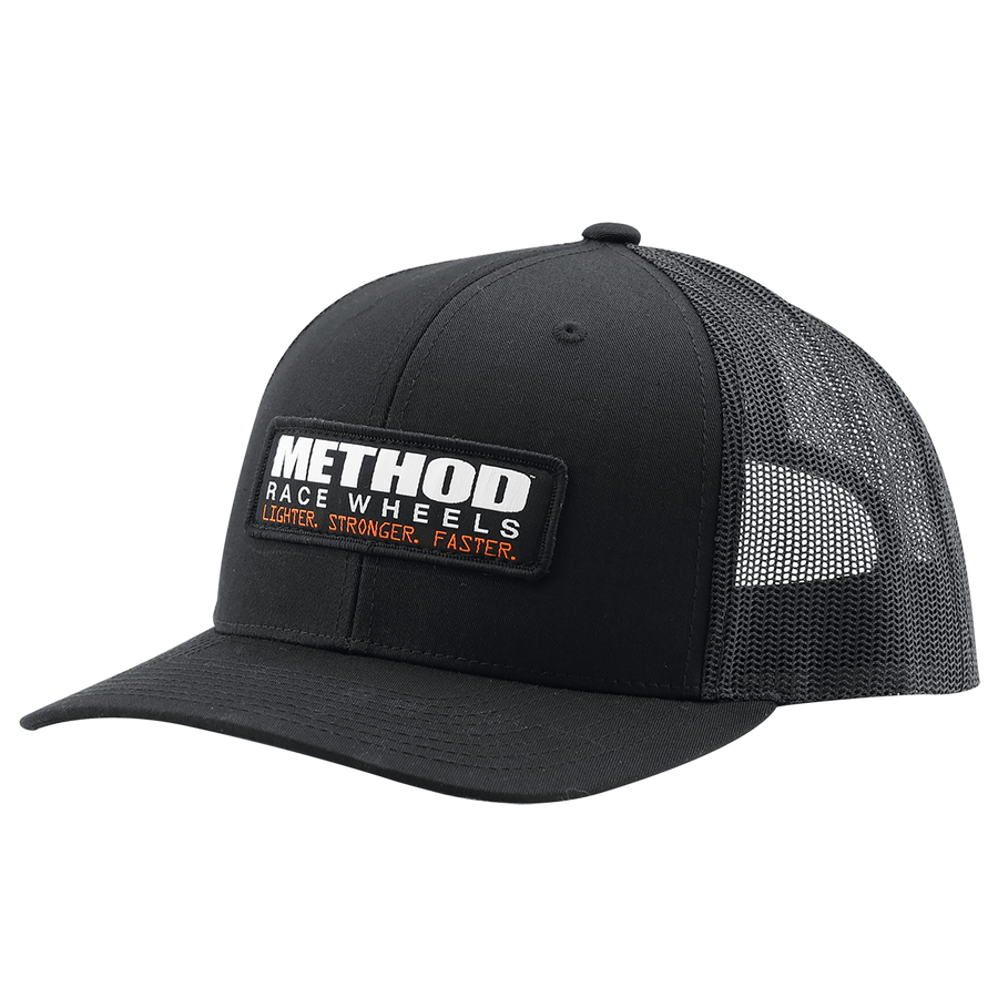 Method CB Trucker Hat | Black Snapback