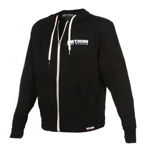 Brand Hoodie Zip-Up | Black