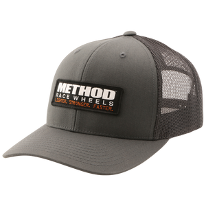Method CB Trucker Hat | Grey Snapback