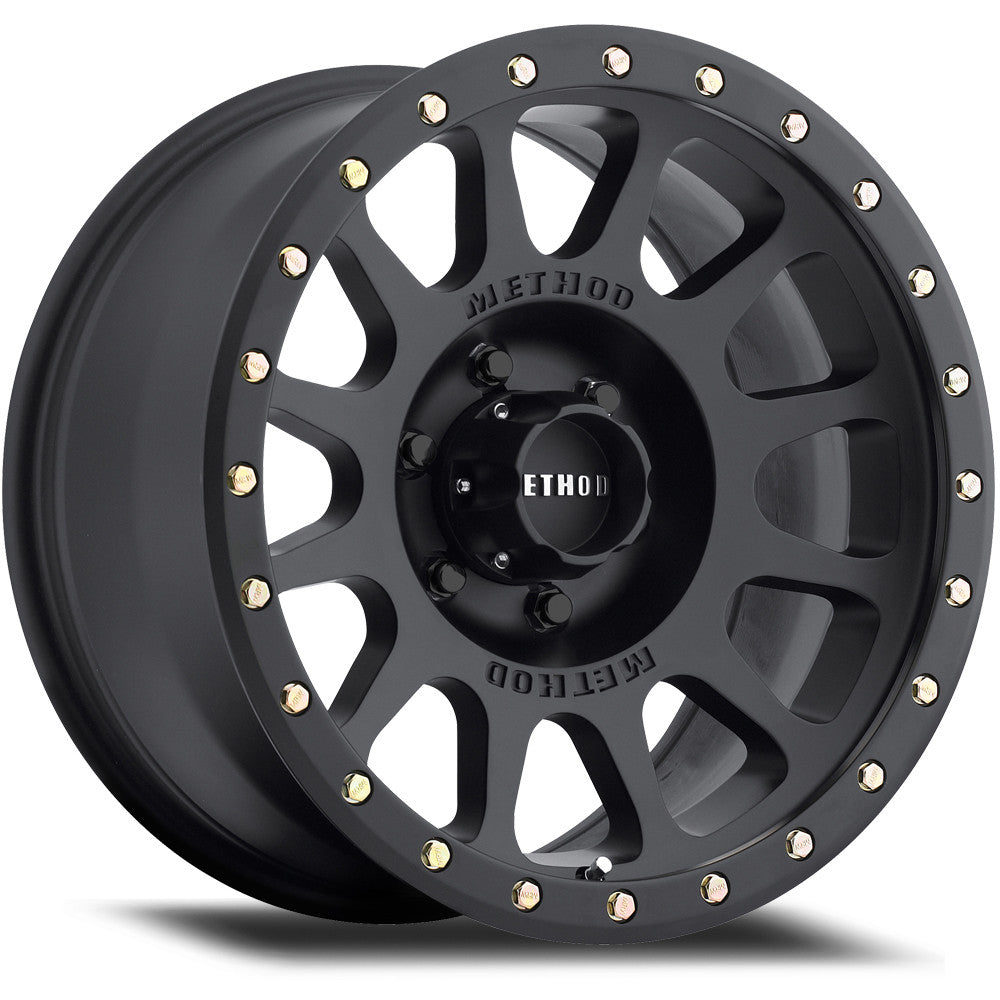 ... Matte Black MR305 NV Off-Road Wheels.