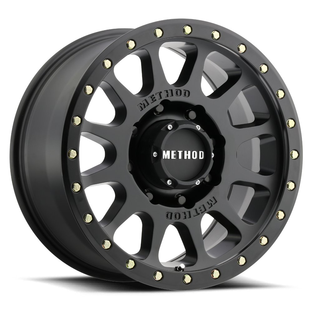 ... Matte Black MR305 NV HD Off-Road Wheels.