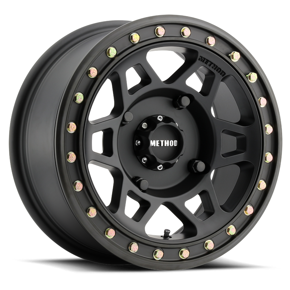 405 beadlock black utv and atv wheel method race wheels 405 utv beadlock matte black sciox Gallery