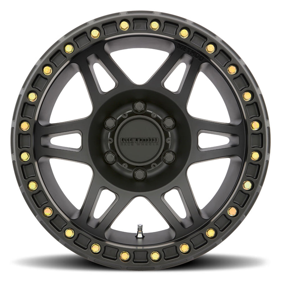 Method Race Wheels 106 Matte Black Beadlock wheel Matte Black