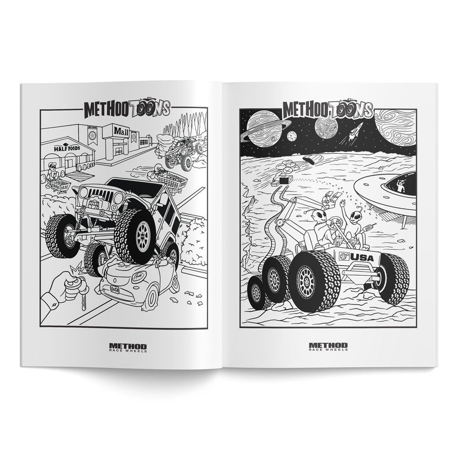 Method Toons Coloring Book