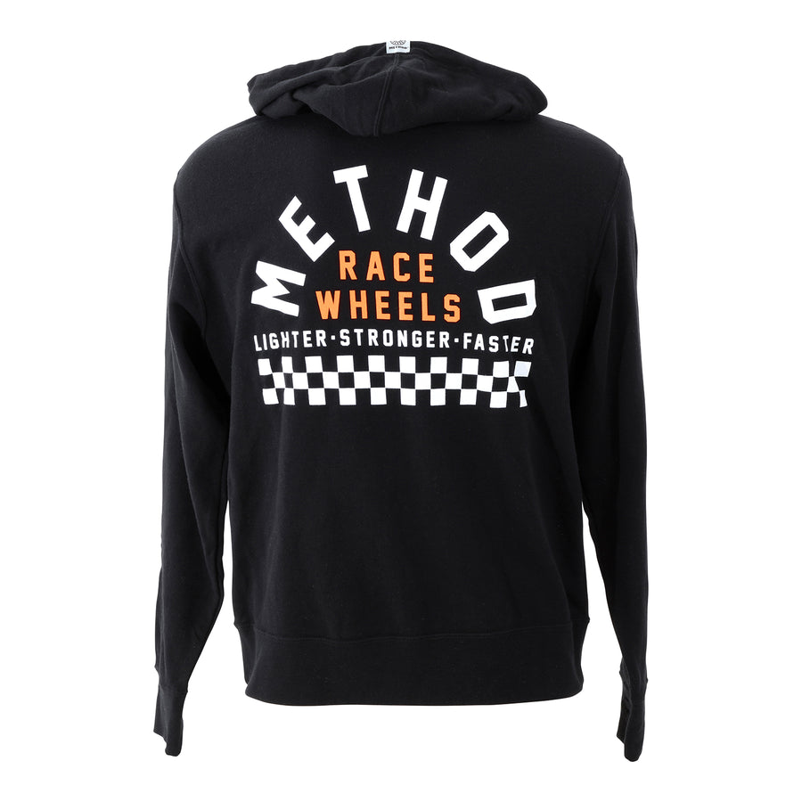 Method Checkers Hoodie Zip-Up | Black
