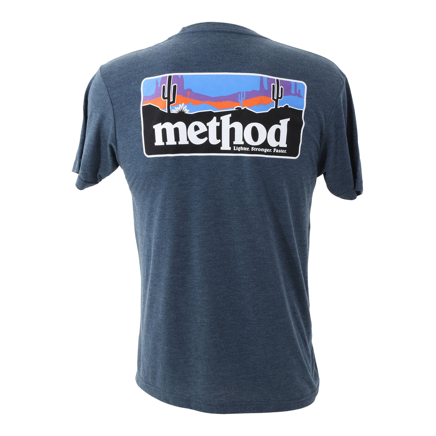 Methodonia T-Shirt | Indigo