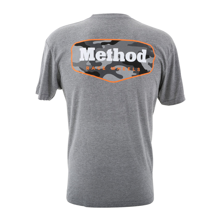 Method Camo T-Shirt | Grey