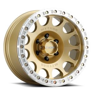 Method 105 Beadlock Wheel Gold