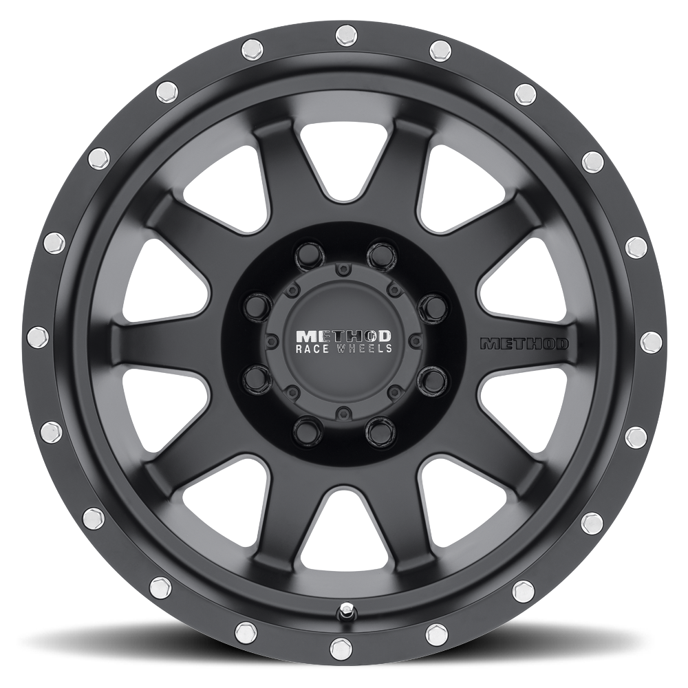 25 mm offset Method Race Wheels The Standard Machined Wheel with Matte Clear Coat 17x8.5//6x5.5