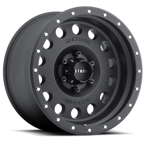 307 Hole Matte Black Offroad Truck Wheels Method