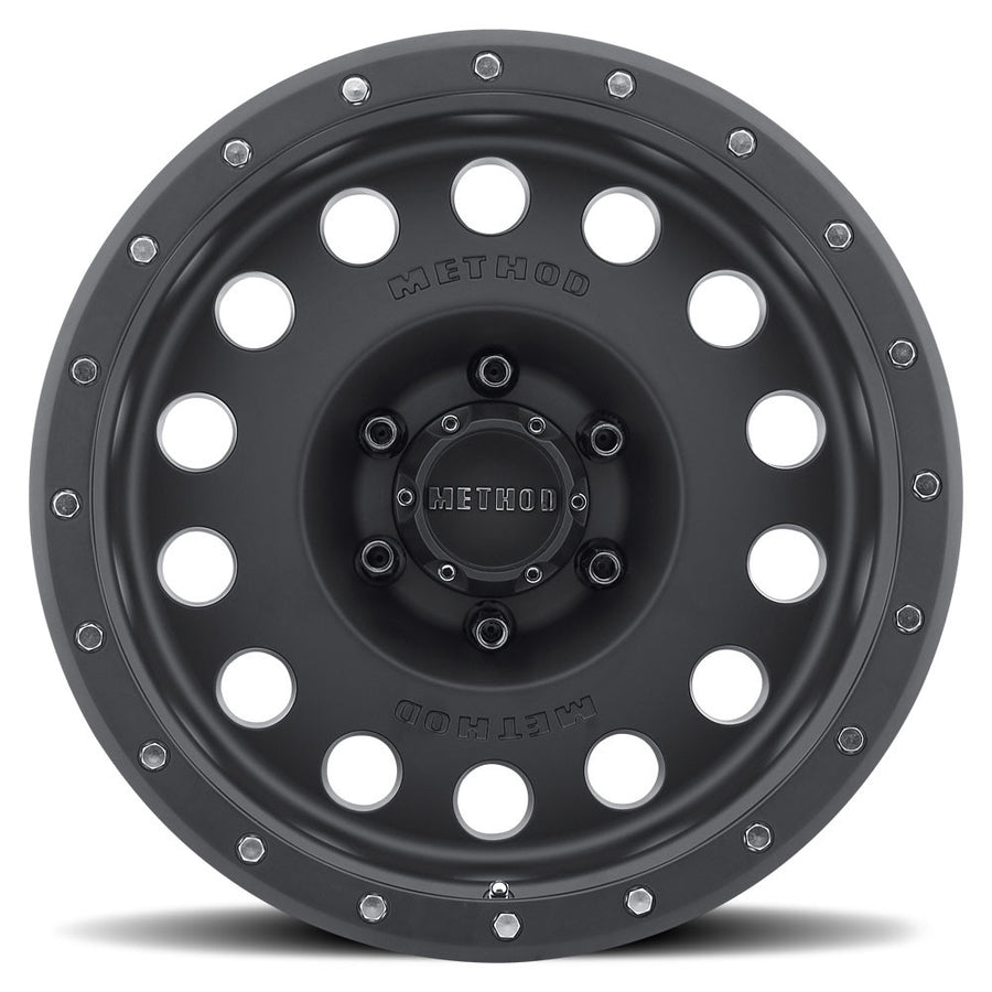 Matte Black MR307 Hole Off-Road Wheels.