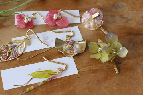 Flower Ponytail Hooks - Hair Jewelry