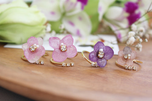 Hydrangea Rings (Limited item)- No.12