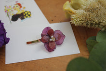 Flower Ponytail Hook - Hydrangea Hair Jewelry No.3