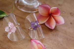 Hydrangea Rings (Limited item)- No.8