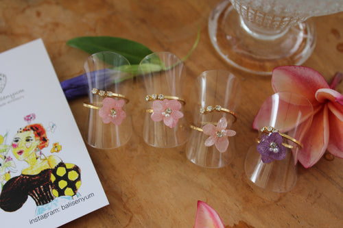 Hydrangea Rings (Limited item)- No.9