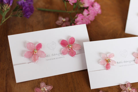 Sakura Earrings - Medium size