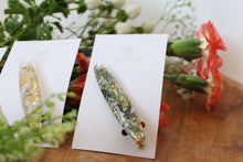 Oval Flower Hair Clip - No.6