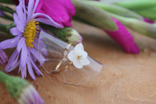 White Hydrangea Ring (Limited item)- No.5