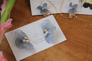 Light Blue Hydrangea Wing  No.40