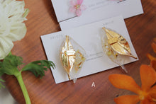Double Leaf Earrings 〜 No.1