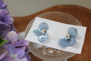 Light Blue Hydrangea Wing  No.48