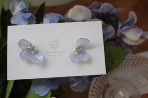 Light Blue Hydrangea Wing  No.62