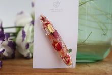 Oval Flower Hair Clip - No.43