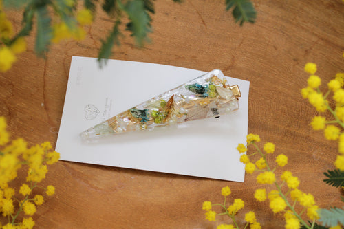 Flower Hair Clip  - No.30