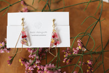 Triangular Floral Earrings - Spring 2020