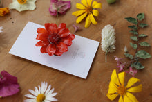 Zinnia Flower Ponytail Hook - Hair Jewelry