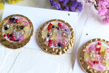 Golden Flower Medallions