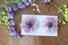 Antique Purple  Zinnia Flower No.2