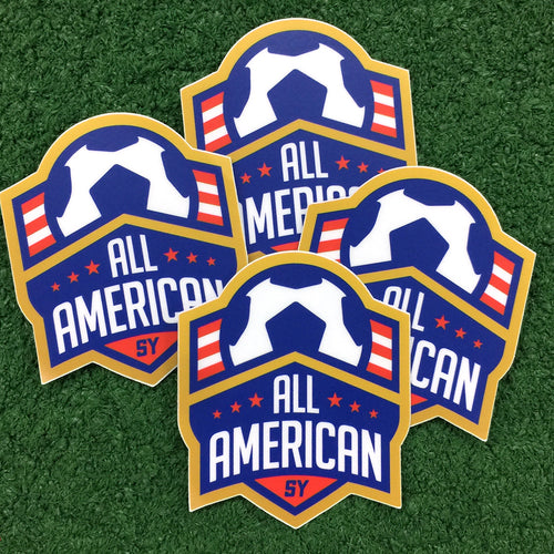 All-American Decal