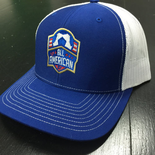 All-American Trucker Hat (Royal Blue / White)