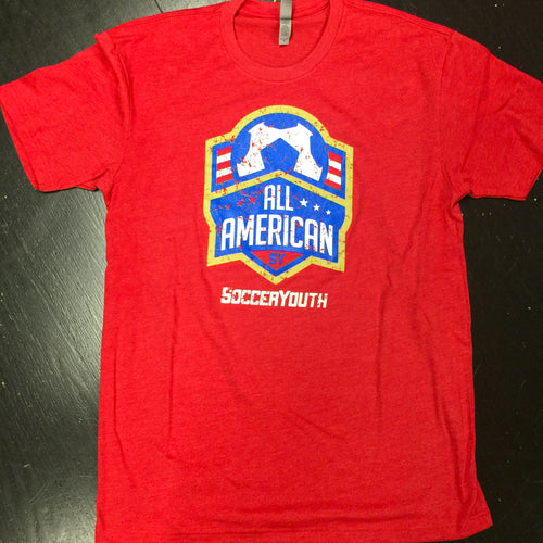 All-American - T-Shirt (Red)