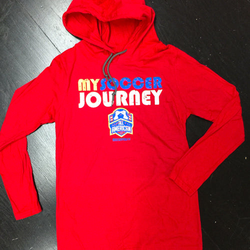 My Soccer Journey - Hoodie (Red)