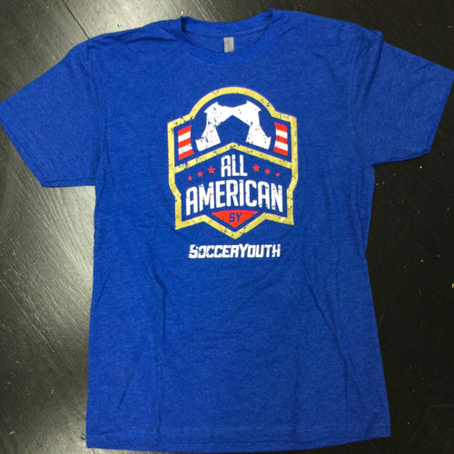 All-American - T-Shirt (Royal Blue)