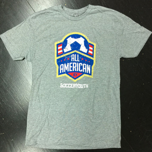 All-American - T-Shirt (Heather Grey)