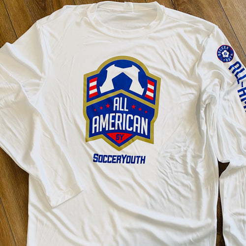 All-American - Performance Long Sleeve (White)