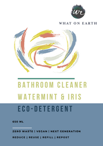 C & C | Bathroom Cleaner | Watermint and Iris