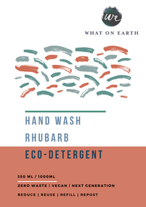 Hand Wash / Shower Gel Refill | Rhubarb