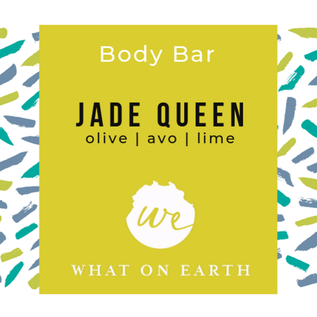 Jade Queen | Body Bar | Olive, Avocado & Lime