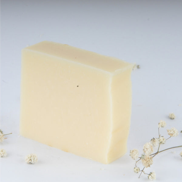 Bar of Rosemary Orange, a handmade, organic shampoo soap bar
