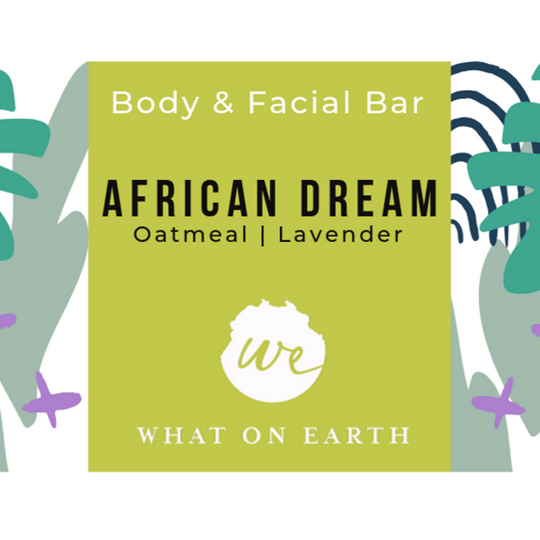 African Dream Body & Facial Bar | Colloidal Oatmeal & Shea Butter